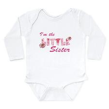 i'm the little sister daisy Long Sleeve Infant Bod