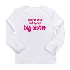 Little Big Sister Long Sleeve Infant T-Shirt