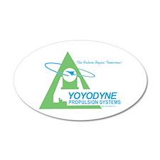 Yoyodyne 20x12 Oval Wall Peel