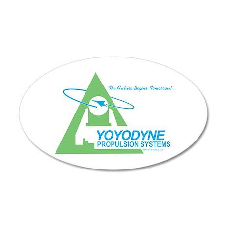 Yoyodyne 35x21 Oval Wall Peel