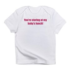 Staring at baby's lunch Infant T-Shirt