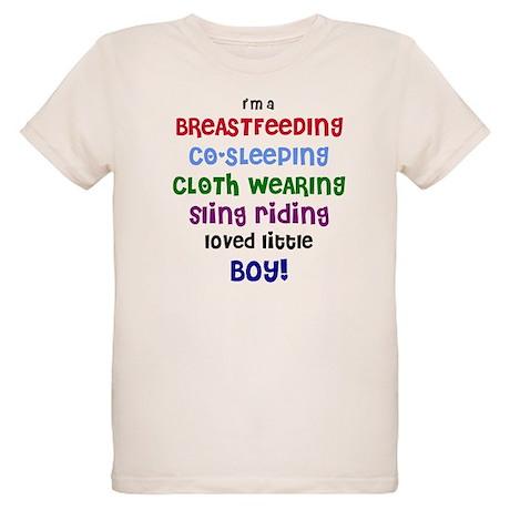 Loved little boy Organic Kids T-Shirt