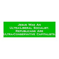 Jesus Socialist 36x11 Wall Peel