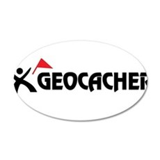Geocacher 20x12 Oval Wall Peel