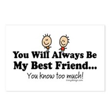 Best Friends Knows Postcards (Package of 8)