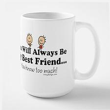Best Friends Knows Mug