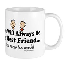 Best Friends Knows Mug