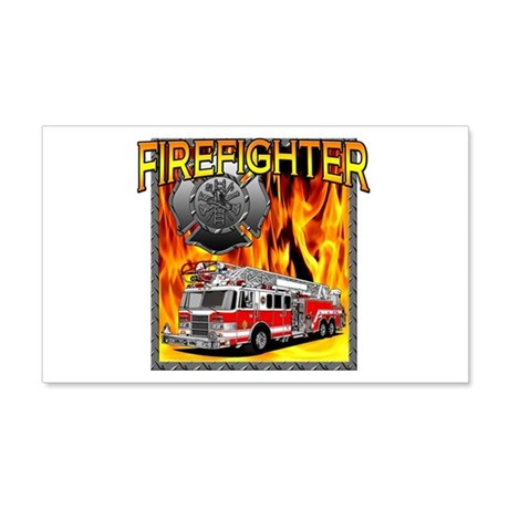 LADDER TRUCK 20x12 Wall Peel