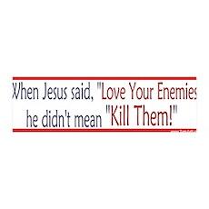 36x11 Wall Peel - Love Your Enemies