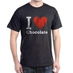 I Love Chocolate Dark T-Shirt