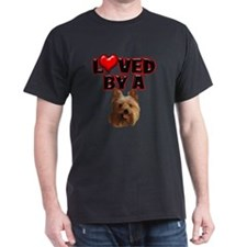 Loved by a Yorkie T-Shirt