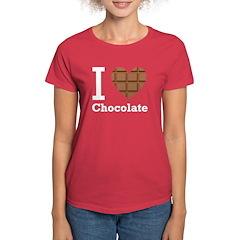 I Love Chocolate Tee