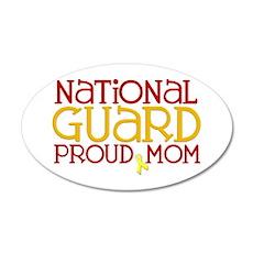 NG Proud Mom 20x12 Oval Wall Peel