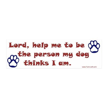 Dog Prayer 20x6 Wall Peel