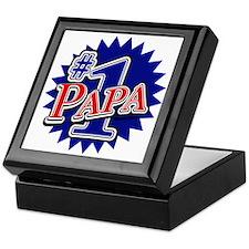 Number 1 Papa Keepsake Box