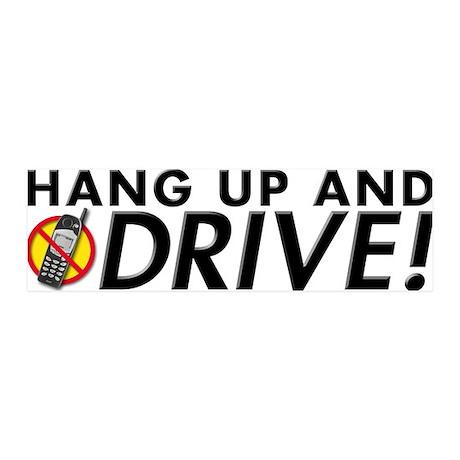 Hang Up and Drive! 36x11 Wall Peel
