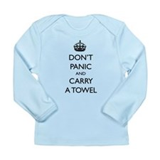 Don't Panic Long Sleeve Infant T-Shirt