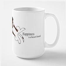 Basset Love Large Mug