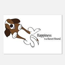 Basset Love Postcards (Package of 8)