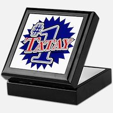 Number 1 Tatay Keepsake Box