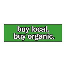 Buy Local Buy Organic 36x11 Wall Peel