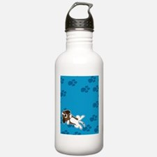Happiness is a Basset Hound Water Bottle