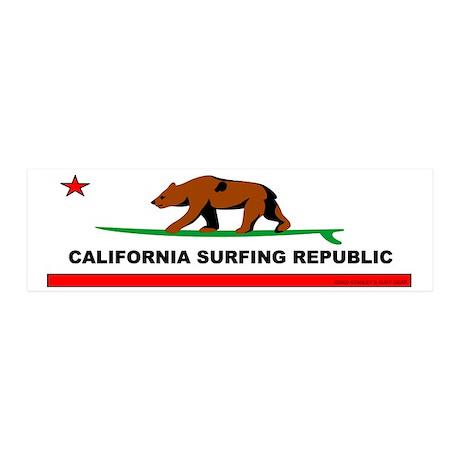 California Bear 20x6 Wall Peel