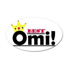 Best Omi 20x12 Oval Wall Peel