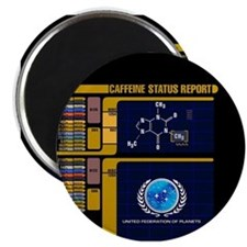 Caffeine Status Report Magnet