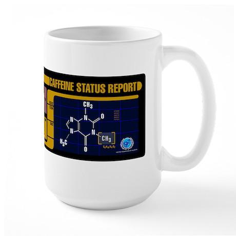 Caffeine Status Report Large Mug