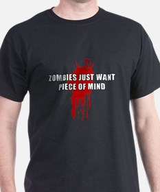 Zombie Humor (Mind) T-Shirt