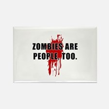 Zombie Humor (People) Rectangle Magnet
