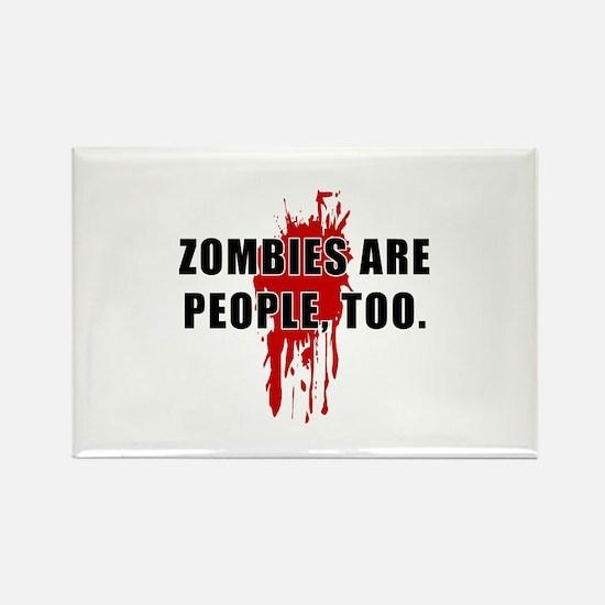Zombie Humor (People) Rectangle Magnet