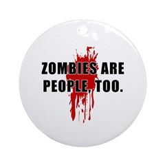 Zombie Humor (People) Ornament (Round)