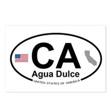 Agua Dulce Postcards (Package of 8)