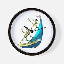 BoNeY SuRfErS Wall Clock