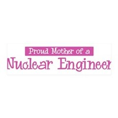 Proud Mother of Nuclear Engin 36x11 Wall Peel