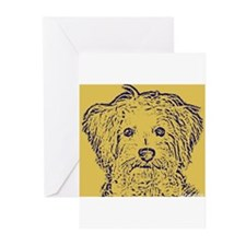 schnoodle Greeting Cards (Pk of 10)