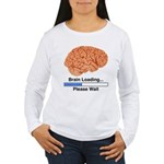 Brain Loading Women's Long Sleeve T-Shirt