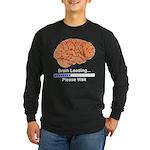 Brain Loading Long Sleeve Dark T-Shirt