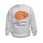 Brain Loading Kids Sweatshirt