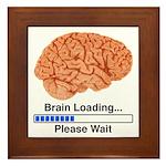 Brain Loading Framed Tile