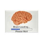 Brain Loading Rectangle Magnet (10 pack)