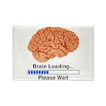 Brain Loading Rectangle Magnet (100 pack)