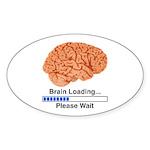 Brain Loading Sticker (Oval 10 pk)
