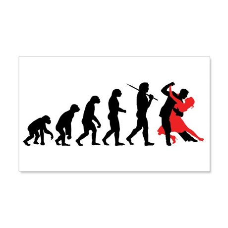 Dancing 20x12 Wall Peel