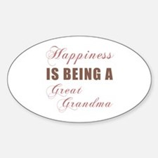 Great Grandma (Happiness) Decal