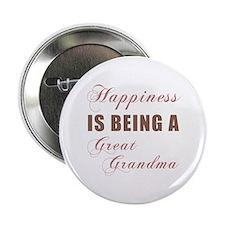 "Great Grandma (Happiness) 2.25"" Button"