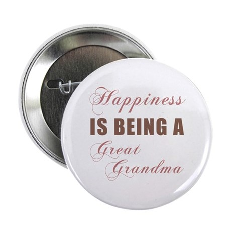 "Great Grandma (Happiness) 2.25"" Button"