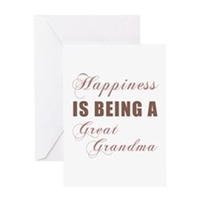Great Grandma (Happiness) Greeting Card